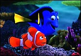 A still from Finding Nemo