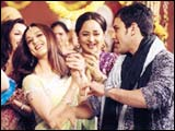 Preity and Saif in KHNH