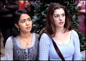 Parminder Nagra and Anne Hathaway in Ella Enchanted