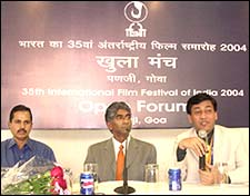 Ashok Amritraj at the IFFI