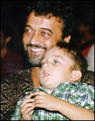 Lucky Ali with son, Tahafuz