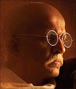 Darshan Jariwala as Gandhi