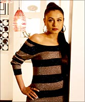 Rani Mukherji in a still from the film.