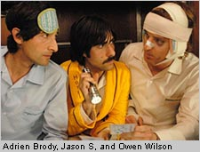 A still from Darjeeling Limited
