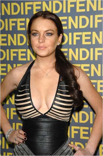 Superstar Lindsay Lohan Nude Shots Gif