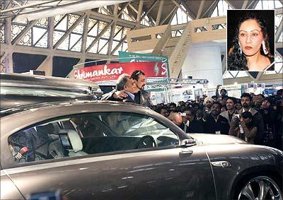 Sanjay Dutt to gift Nano to girlfriend - Rediff.com movies