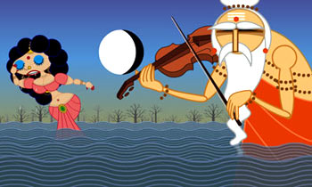 A scene from Sita Sings The Blues