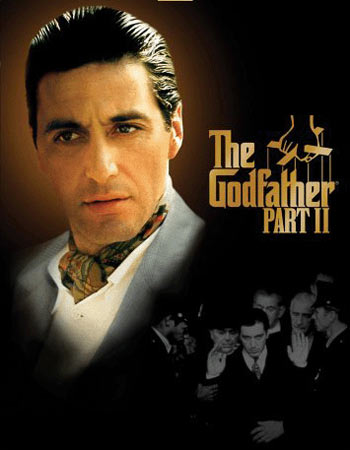 A poster of Godfather II