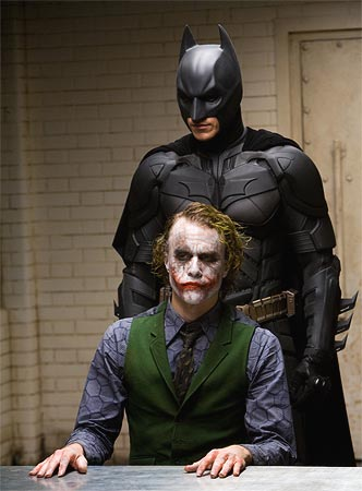 A scene from The Dark Knight