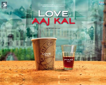 A poster of Love Aaj Kal