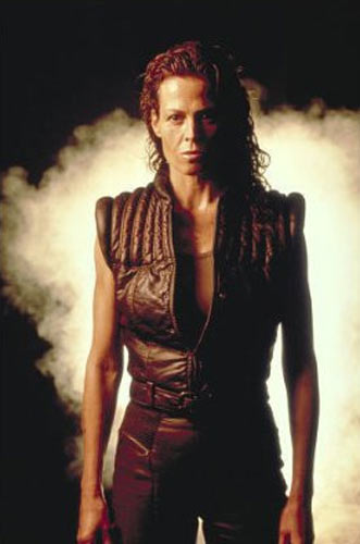 Sigourney Weaver in a scene from <I>Alien: Resurrection</I>