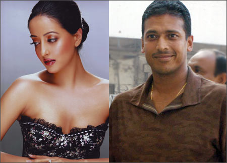 Raima Sen and Mahesh Bhupathi