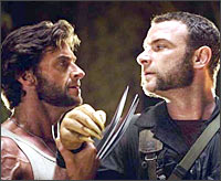 A scene from X-Men Origins: Wolverine