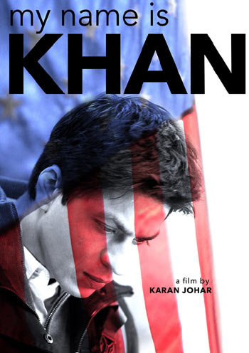 The My Name Is Khan poster