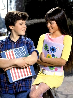 A scene from The Wonder Years