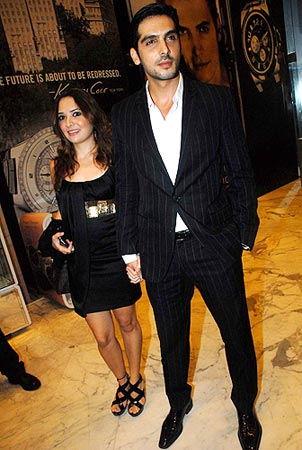 Malaika Parekh and Zayed Khan