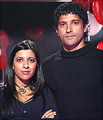 Zoya and Farhan Akhtar