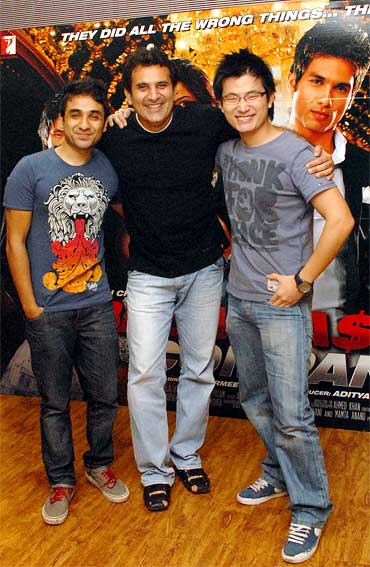 Vir Das, Parmeet Sethi and Chang