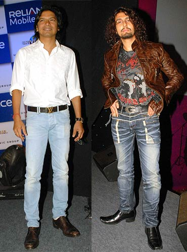 Shaan and Sonu Nigam