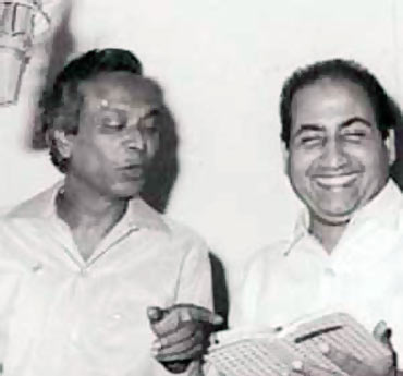 Naushad and Mohammad Rafi