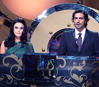 Preity Zinta and Arjun Rampal
