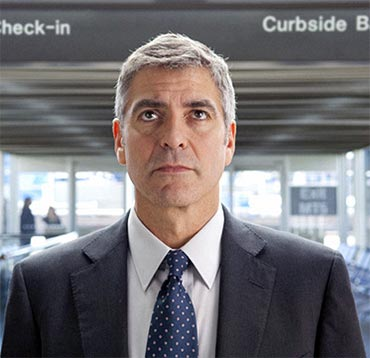 George Clooney in a scene from Up in the Air