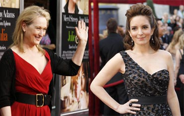 Meryl Streep and Tina Fey