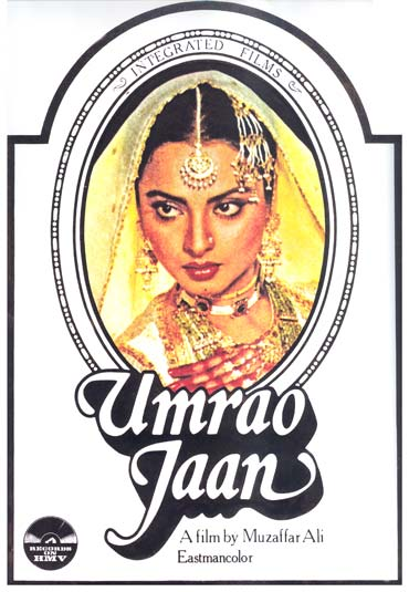 A poster of Umrao Jaan
