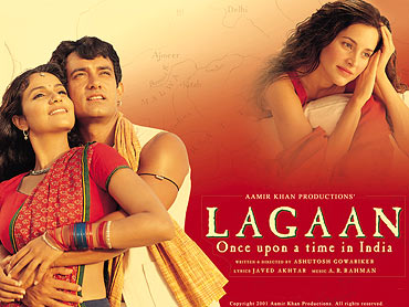 A poster of Lagaan