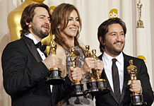 Kathryn Bigelow, Mark Boal and Greg Shapiro