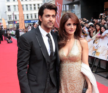 Hrithik Roshan and Suzanne