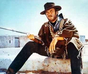 A scene from For A Few Dollars More