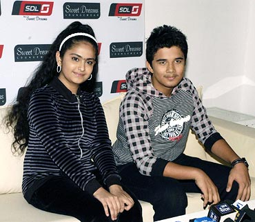 Avika Gor and Avinash Mukherjee