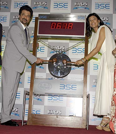 Anil Kapoor and Sushmita Sen
