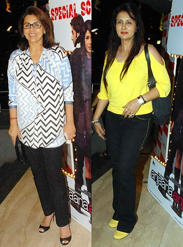 Neetu Singh and Poonam Dhillon
