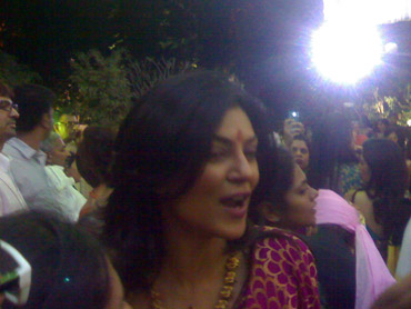 Actress Sushmita Sen at the ceremony