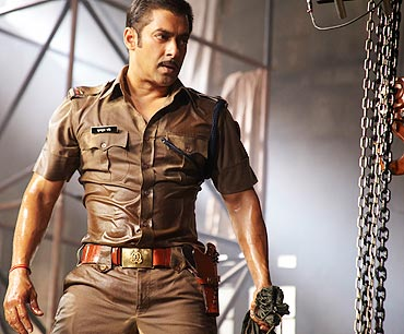 A scene from Dabangg