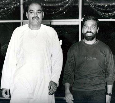 Ramanaidu with Kamal Haasan