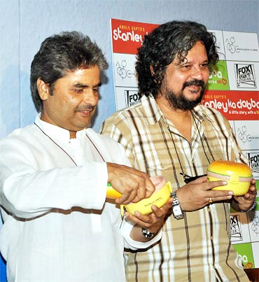 Vishal Bhardwaj and Amol Gupte