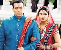 Salman Khan and Asin in Ready