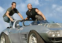 A scene from Fast Five