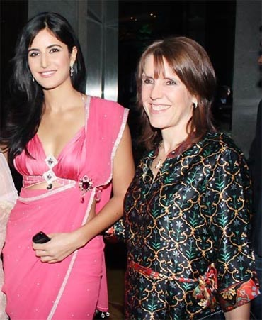 Katrina Kaif and Suzanne Turquotte