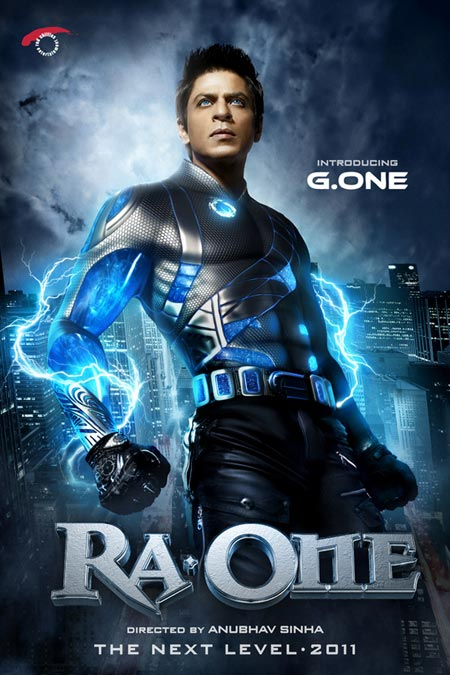 Movie poster of Ra.One
