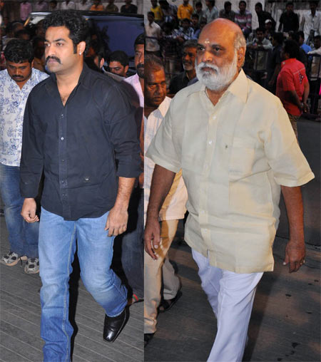 NTR Jr and  K Raghavendra Rao