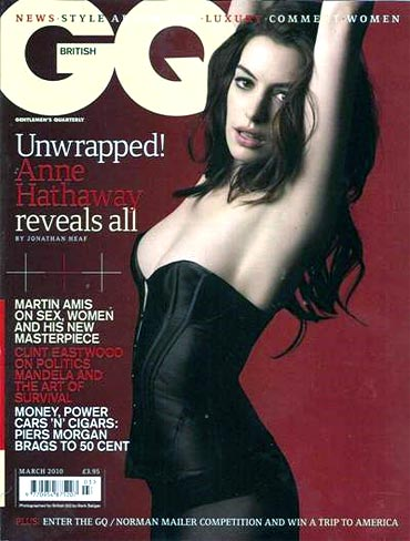 Anne Hathaway on the cover of GQ
