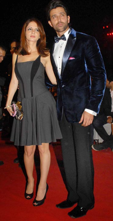 Susanne and Hrithik Roshan