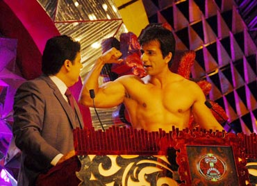 Sajid Khan and Sonu Sood