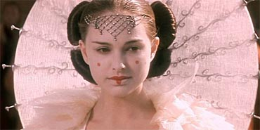 Natalie Portman in Star Wars: Episode One - The Phantom Menace