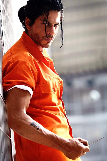 What do you think of SRK's Don 2 look? - Rediff.com Movies