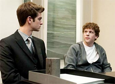 A scene from The Social Network